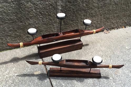Canoe Candle Holder