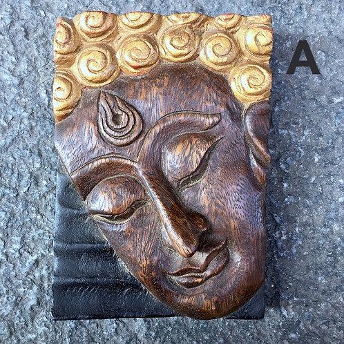 Face Buddha Panel