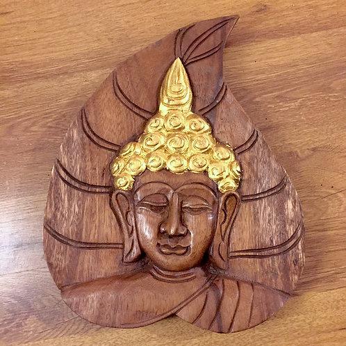 Buddha Leaf Panel