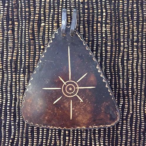 Coconut Silver Pendant