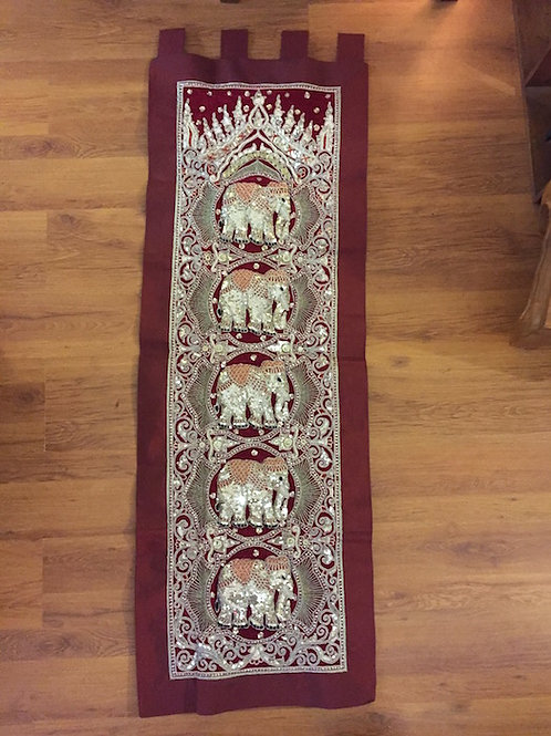 Elephant Temple Tapestry