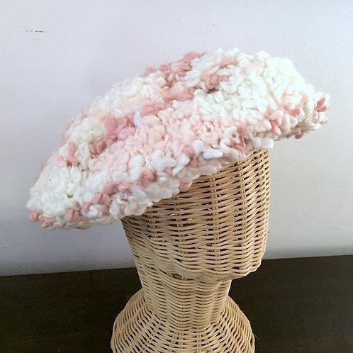 Pink Sheep Wool Hat