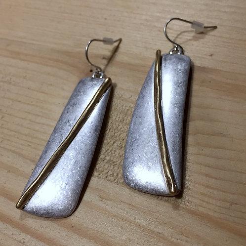 Alu Copper Earrings