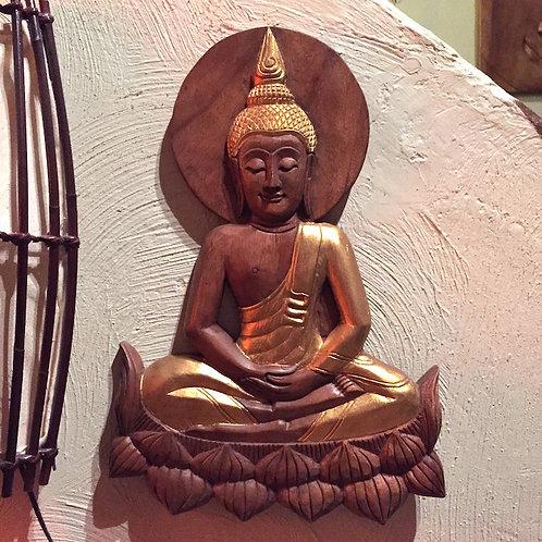 Sun Buddha Panel