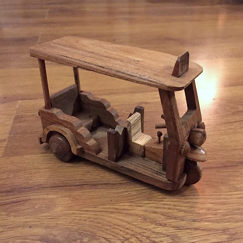 Wooden Tuk-Tuk