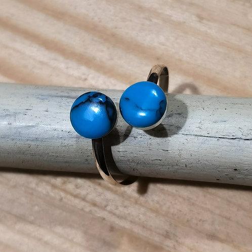 Madrepore Brass Ring