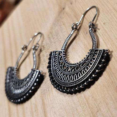Metal Rope Earrings