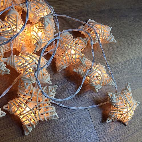 Rattan Star Deco Lamp
