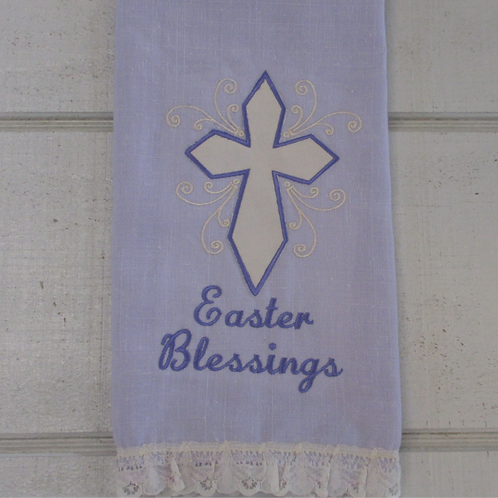 Embroidered Easter Tea towels