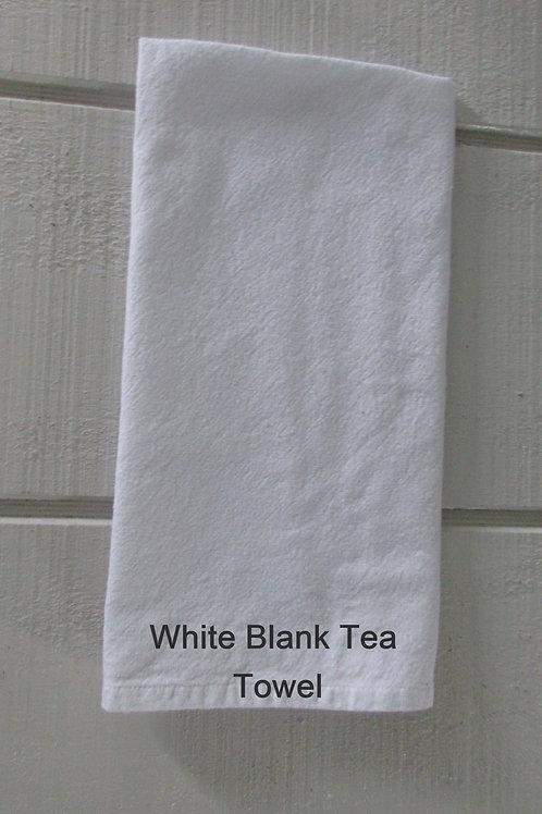 White Blank 100% cotton Tea Towel
