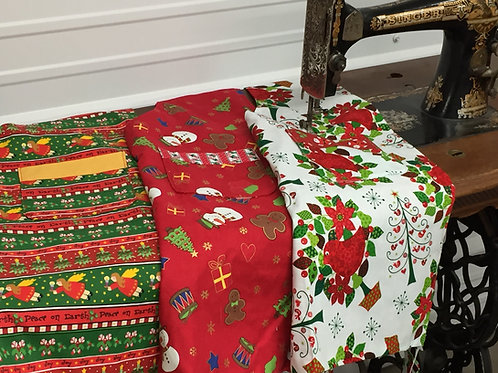 Reversible Holiday Apron