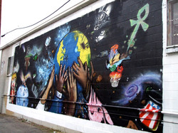 ART FROM THE PEOPLE MURAL