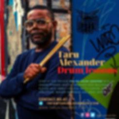 Instagram - Advertisement for drum lesso