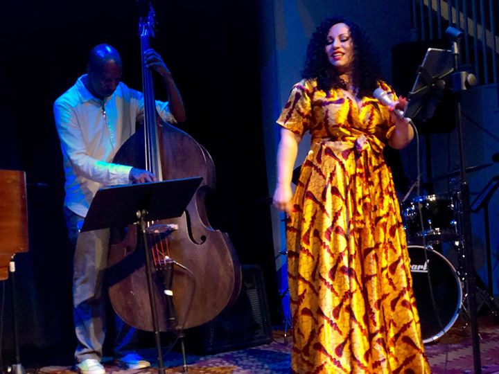 Hanka G NYC Quartet at the cell theater NYC