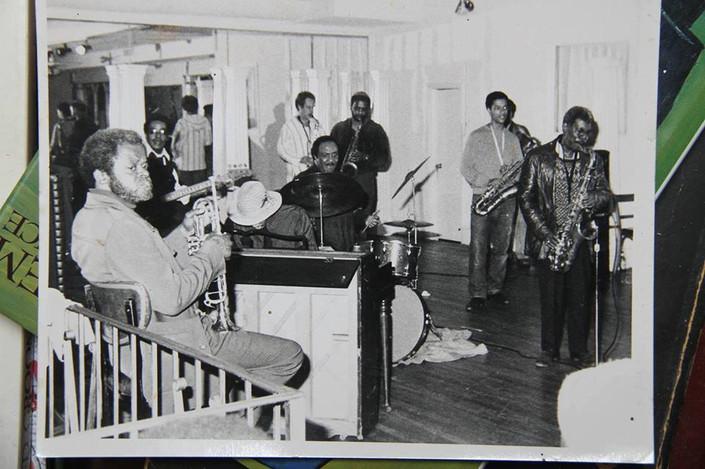 Roland Alexander's band