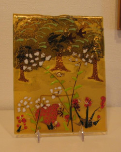 ellen pritts - roadside blooming - fused glass.jpg