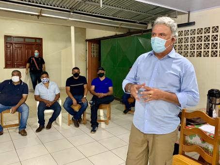 Petecão cumpre extensa agenda no alto acre