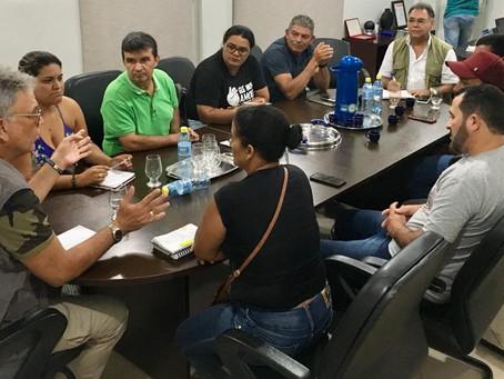 PETECÃO PARTICIPA DE REUNIÃO COM SUBPREFEITOS NO JURUÁ.