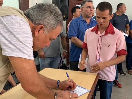 PETECÃO PARTICIPA DE ATO DE FILIAÇÃO EM SENADOR GUIOMARD.