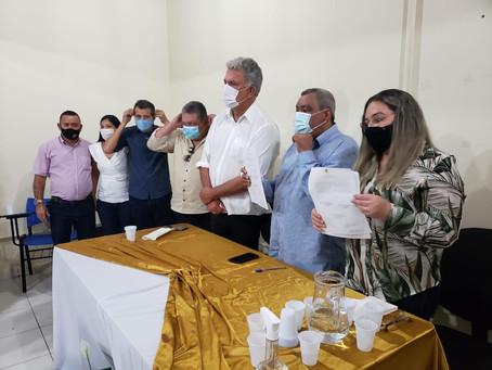 Petecão participa de ato de assinatura de convênio em Sena Madureira