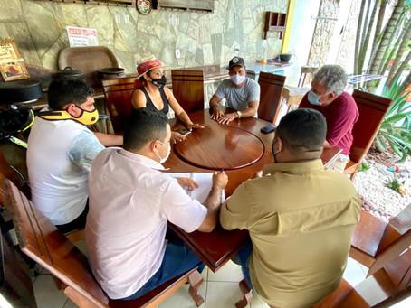 Petecão se reúne com Rosana Nascimento para tratar sobre a reforma administrativa do governo federal