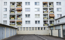 FFM CITY_2_Frankfurt Wohnblock Innenstad