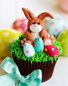фигурки зайца из мастики, пасхальный заяц