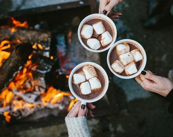 какао с маршмеллоу, маршмеллоу с какао,