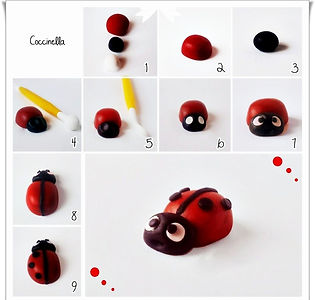 фигурки из мастики, как сделать фигурки из мастики, жук из мастики