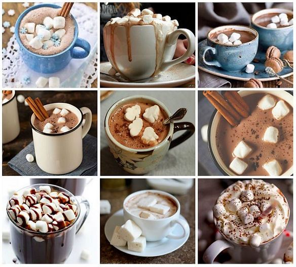 кофе с маршмеллоу, маршмеллоу и кофе, маршмеллоу мини, маршмеллоу гуанди guandy, рецепт кофе с маршмеллоу