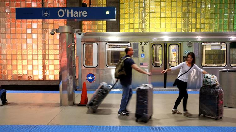 Emanuel takes next step toward O'Hare express train