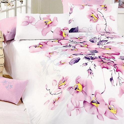 Cпален  комплект памучен сатен/Le Vele Elche  Classic  Bed Set