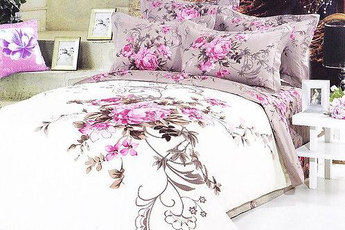 Cпален  комплект памучен сатен/Le Vele Poli Exclusive Bed Set