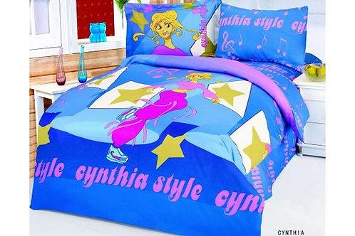 Спален комплект памучен сатен CYNTHIA