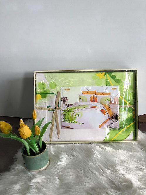 Спален комплект памучен сатен MURA