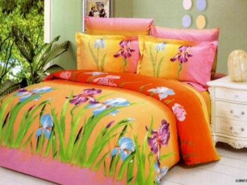 Спален комплект памучен сатен SUMMER