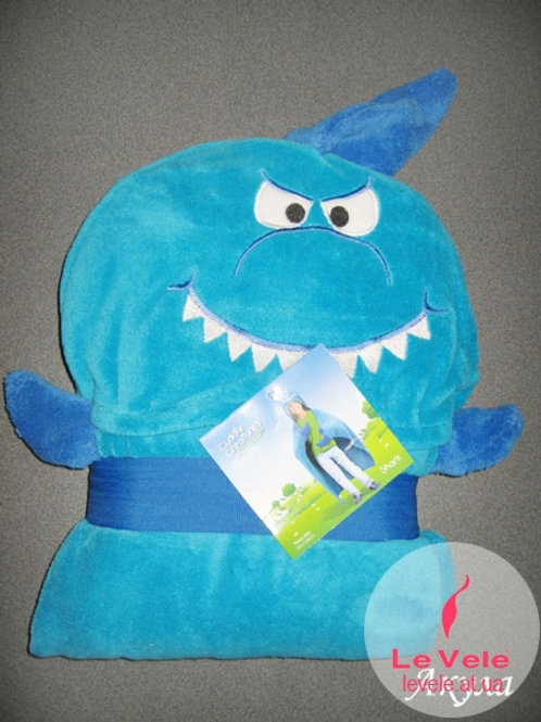 Детско халатче/одеяло Акула