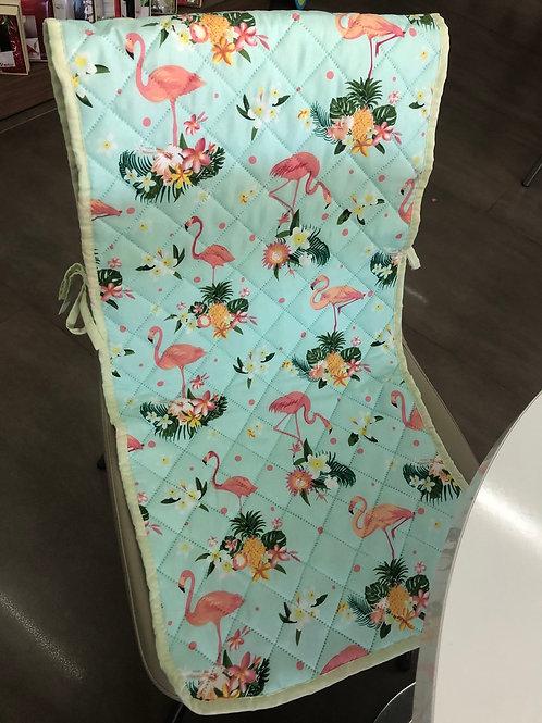 декоративна покривка за стол фламинго