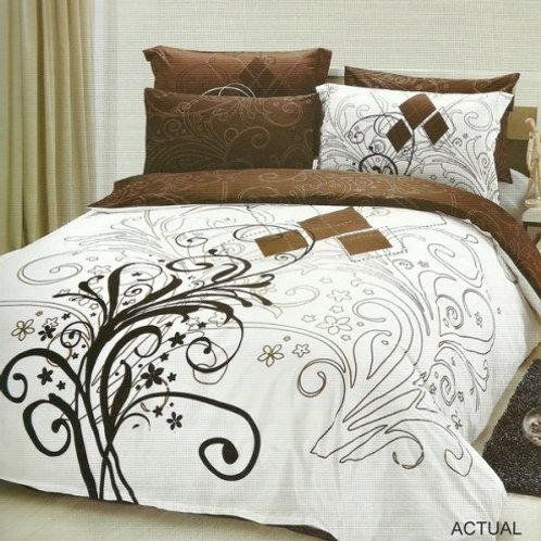 Спален комплект памучен сатен ACTUAL