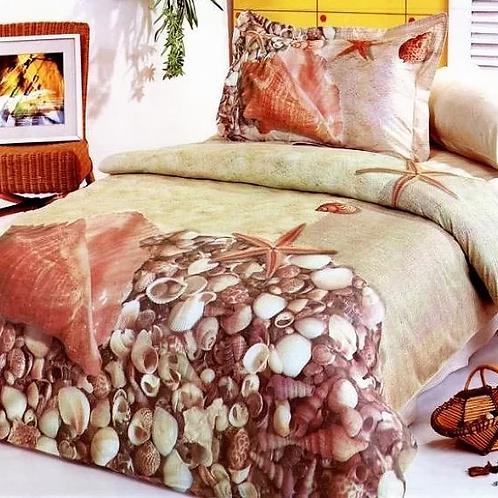 Спален комплект памучен сатен Le vele DENIZ