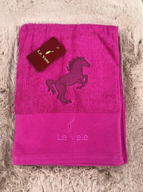 Памучна хавлиена кърпа Le Vele Pink