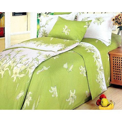 Спален комплект памучен сатен PERFUME- LILY
