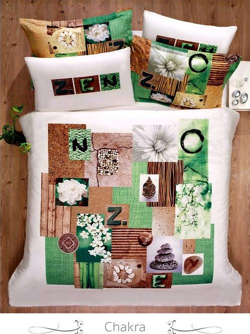 Cпален  комплект памучен сатен Spring series CHAKRA