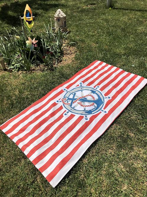 Плажна кърпа с дигитална щампа