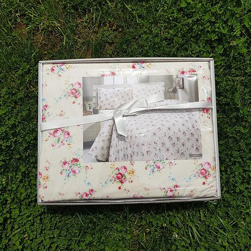 Cпален  комплект бархет/Le Vele Corfu Silk Satin Bed Set