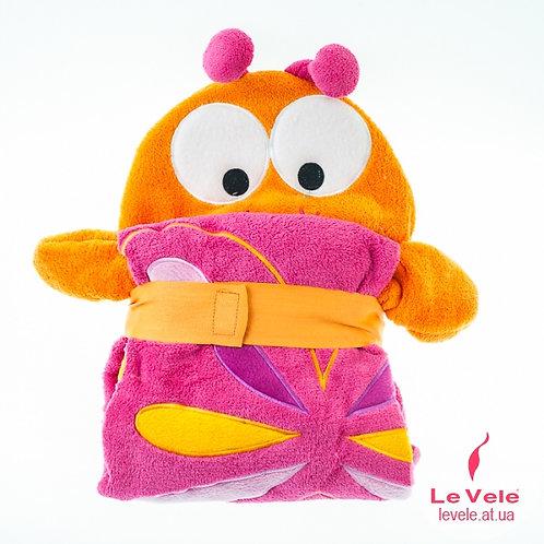 Детско халатче/одеяло Пеперуда