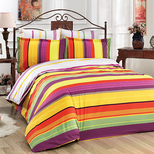Le Vele Melen Exclusive Cotton Satin Bed Set