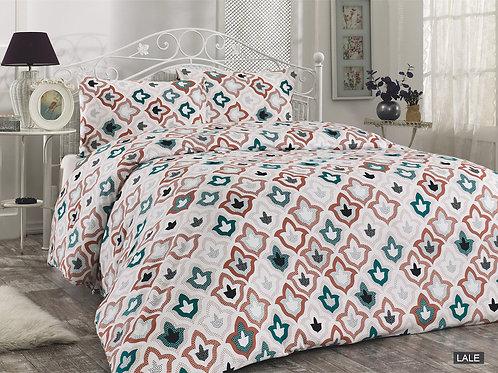 Cпален  комплект бархет/Le Vele LALE Cotton Flanel Bed Set
