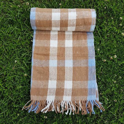 Brown Cotton Blanket