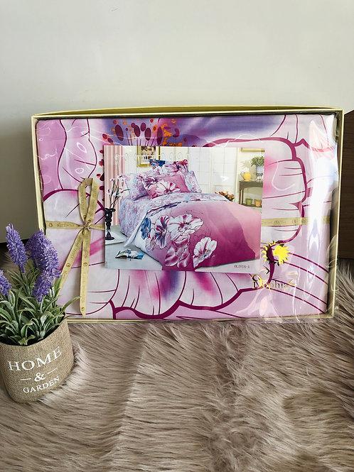 Спален комплект памучен сатен OLIVIA
